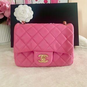 Chanel mini flap bag 💕